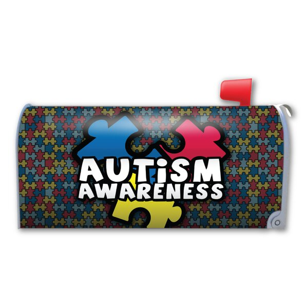 Autism Awareness Magnetic Mailbox Cover by Magnet America