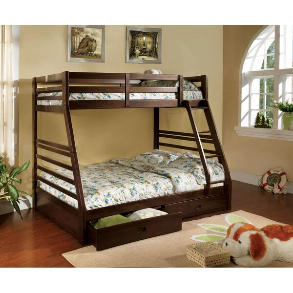 Weatherholt Twin Over Full Bunk Bed with Drawers by Viv + Rae