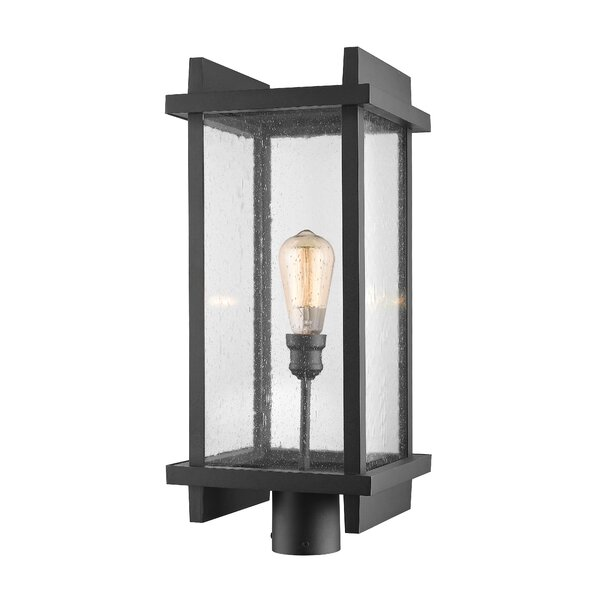 Beeching Outdoor 1-Light Lantern Head by Ivy Bronx