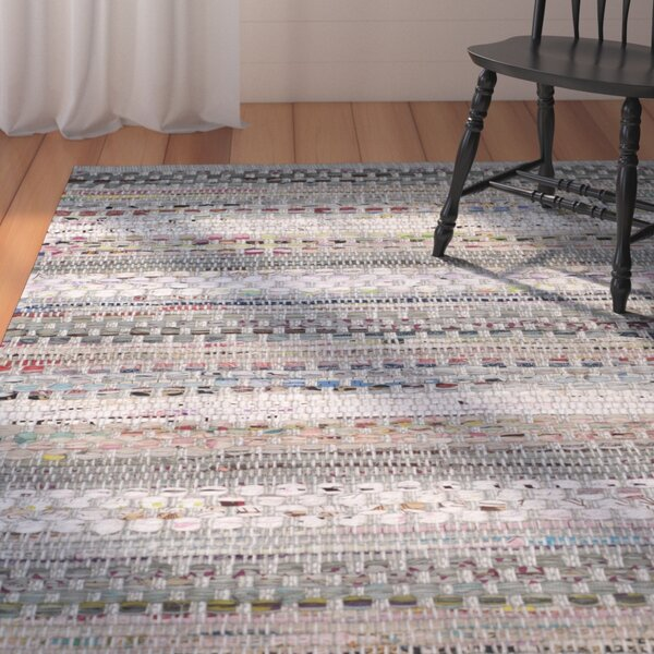 Vesey Hand-Woven Gray/Brown Area Rug by August Grove