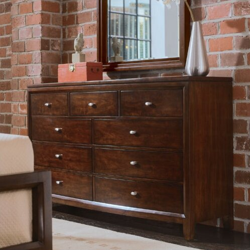 Woodlynne 9 Drawer Double Dresser by Red Barrel Studio