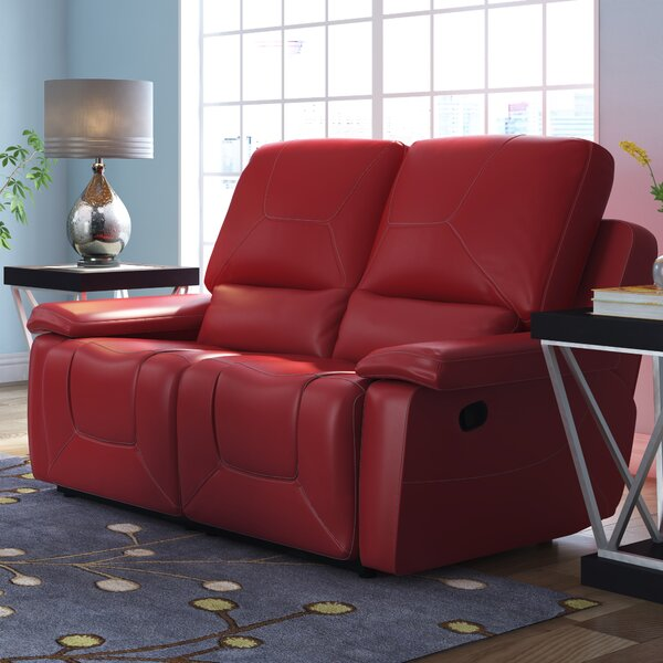 Chic Collection Lockheart Reclining Loveseat by Latitude Run by Latitude Run