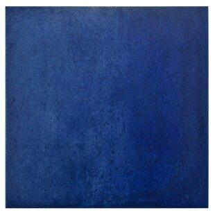 Symbals 14 13 X Porcelain Field Tile In Blue