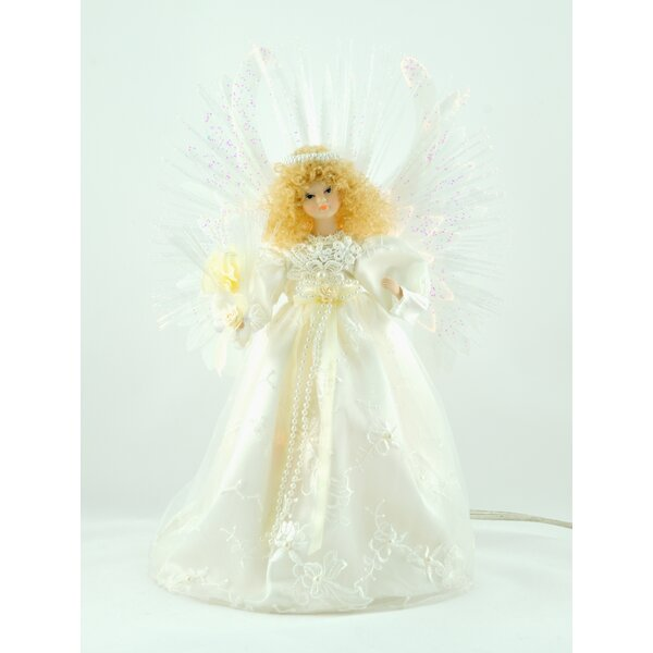13 Fiber Optic Angel Tree Topper by The Holiday Aisle