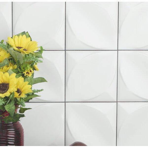 Scania 6 x 6 Ceramic Field Tile in Blanco by EliteTile