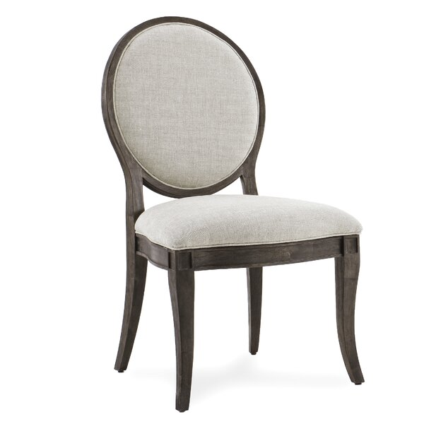 Pond Brook Genuine Leather Upholstered Dining Chair (Set of 2) by Darby Home Co