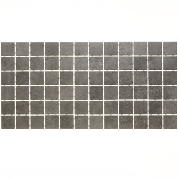Fairfield 12 x 24 Ceramic Mosaic Tile in Iron Grey by Itona Tile