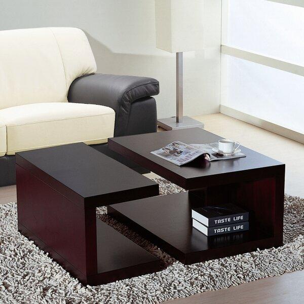 Jengo 2 Piece Coffee Table Set by Hokku Designs Hokku Designs