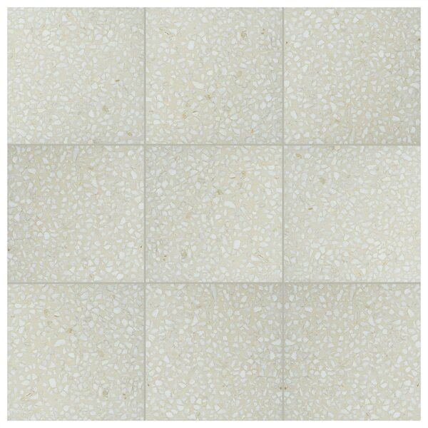 Parma Amalfi 11.5 x 11.5 Porcelain Field Tile in Crema by EliteTile