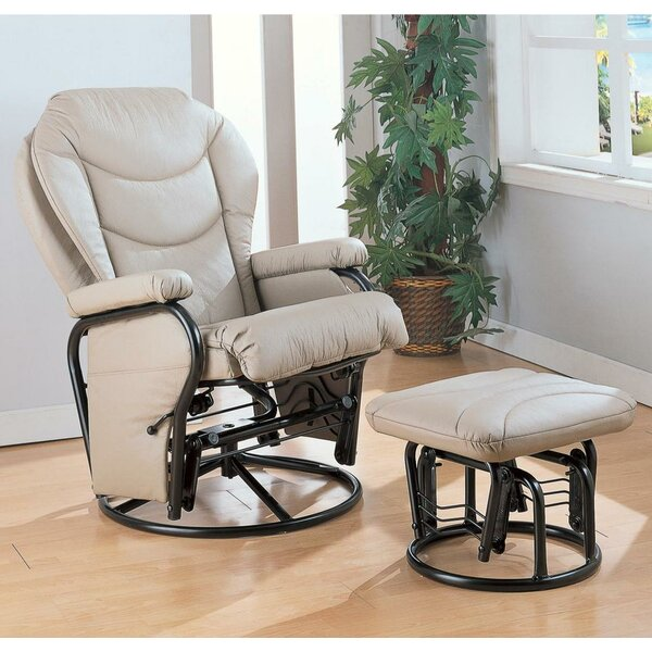 Cryal Recliner With Ottoman By Red Barrel Studio