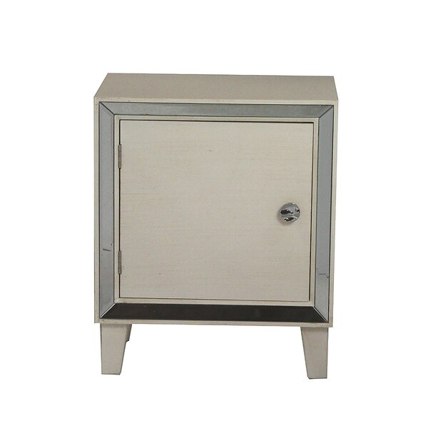 Bayaud 1 Door Accent Cabinet by House of Hampton House of Hampton