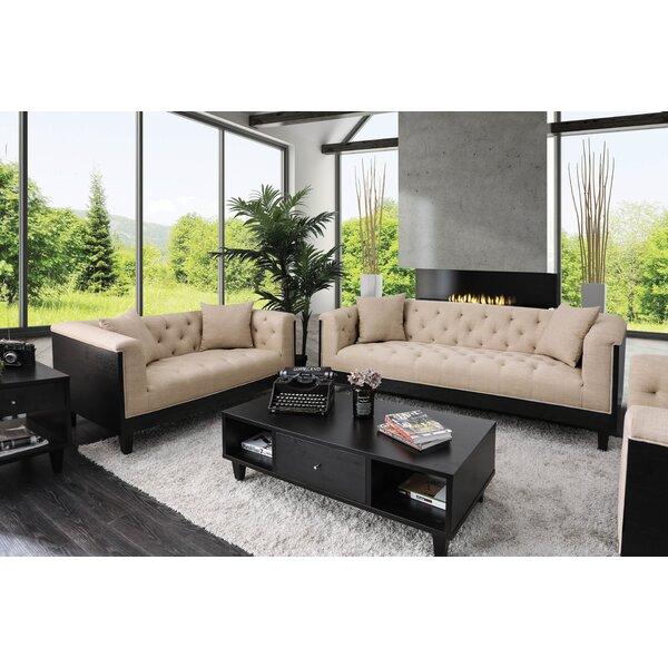 Molter Configurable Living Room Set by House of Hampton