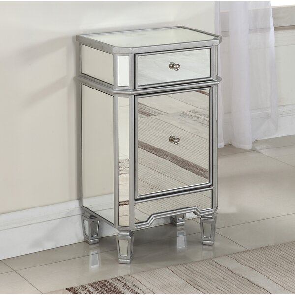 Agnew End Table with Storage by Rosdorf Park