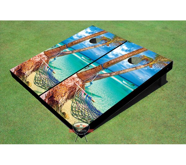 Hammock 2 Cornhole Board (Set of 2) by All American Tailgate