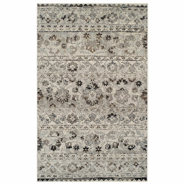 Callicoon Beige/Black Area Rug by Charlton Home