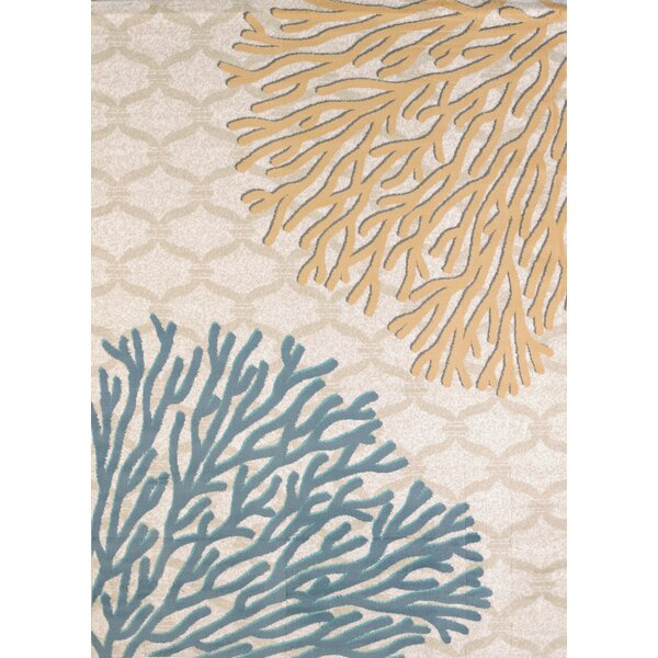 Modern Texture Coral Reef Harvest Area Rug by United Weavers of America