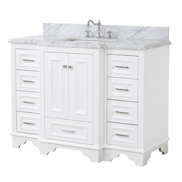 Nantucket 48 Single Bathroom Vanity Set by Kitchen Bath Collection