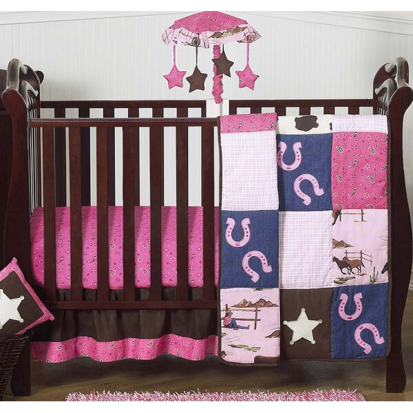 Cowgirl 4 Piece Crib Bedding Set by Sweet Jojo Designs