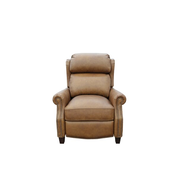 Onna Leather Manual Recliner By Canora Grey