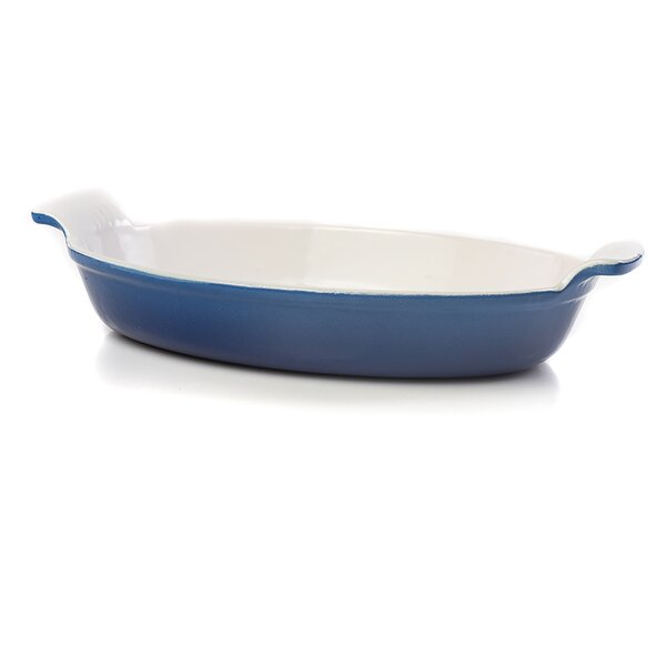 Fonda Oval Non-Stick Gratin Dish by IMPULSE!