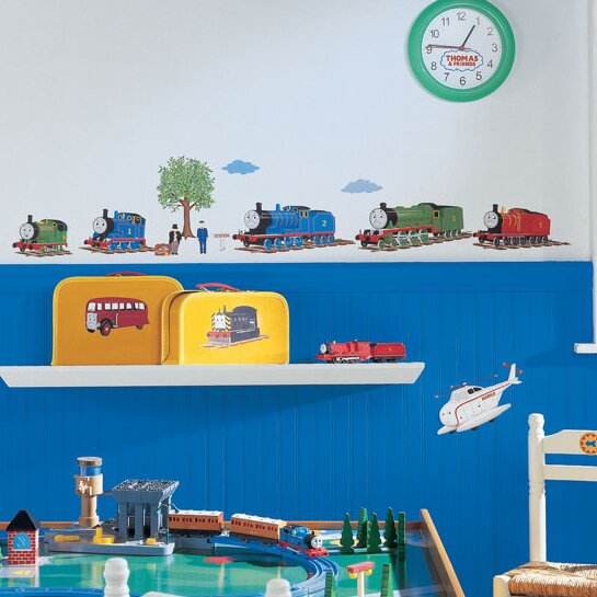 Favorite Characters 27 Piece Thomas and Friends Wall Decal by Room Mates