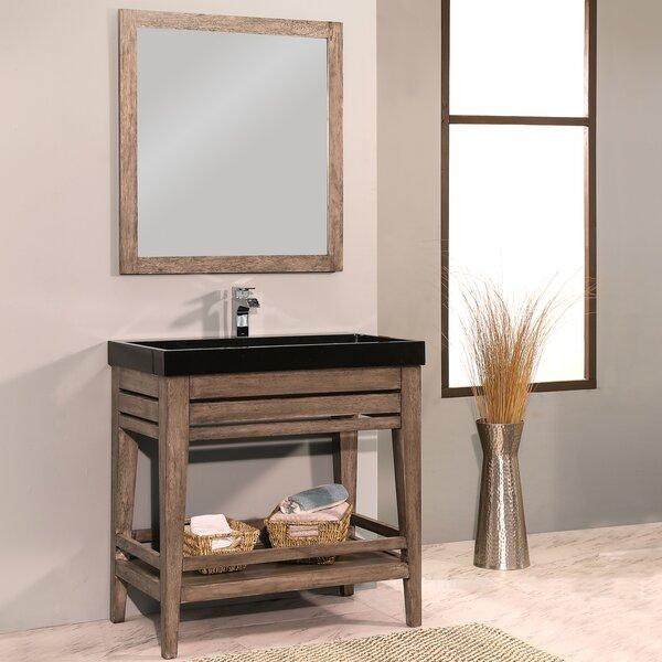 Madalyn 36 Single Bathroom Vanity with Mirror by Union Rustic