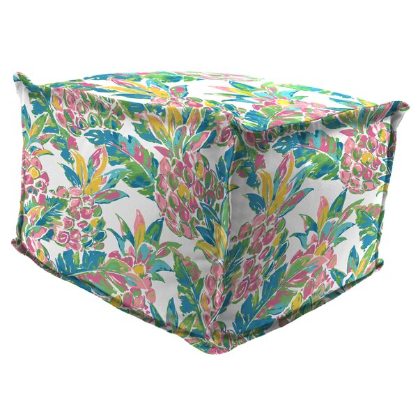 Julio Outdoor Ottoman by Bayou Breeze