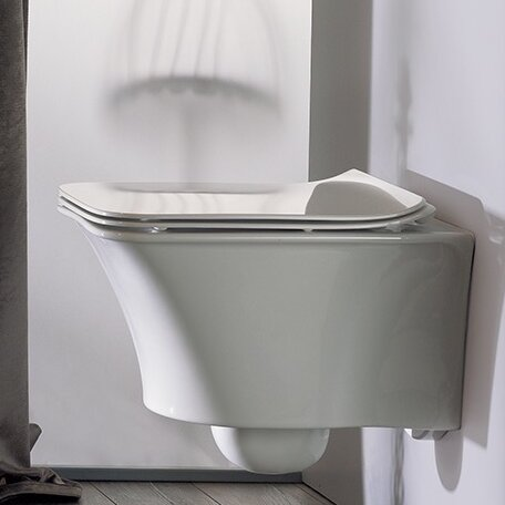 Ibiza 1.2 GPF Elongated Toilet Bowl by CeraStyle by Nameeks