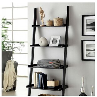 Herron Ladder Bookcase Ebern Designs