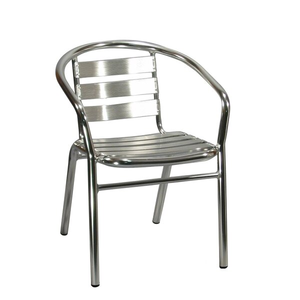 Stacking Patio Dining Chair by H&D Restaurant Supply Inc. H&D Restaurant Supply Inc.