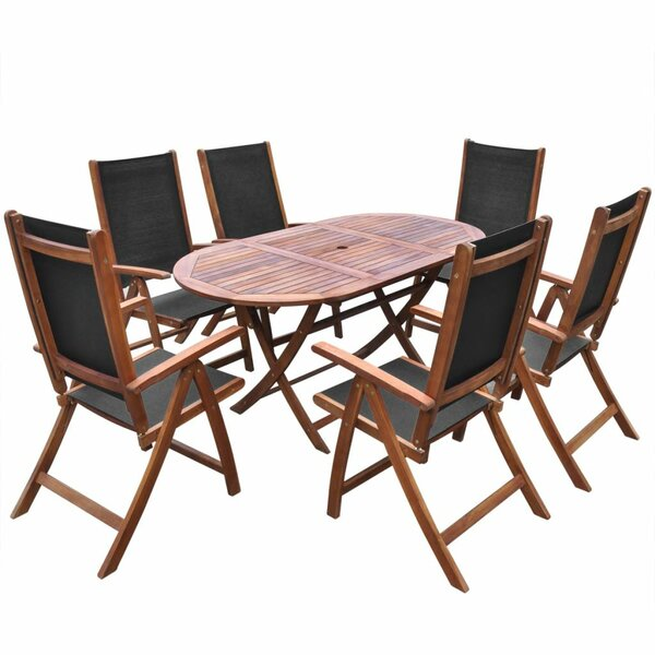 Hico 7 Piece Dining Set by Foundry Select