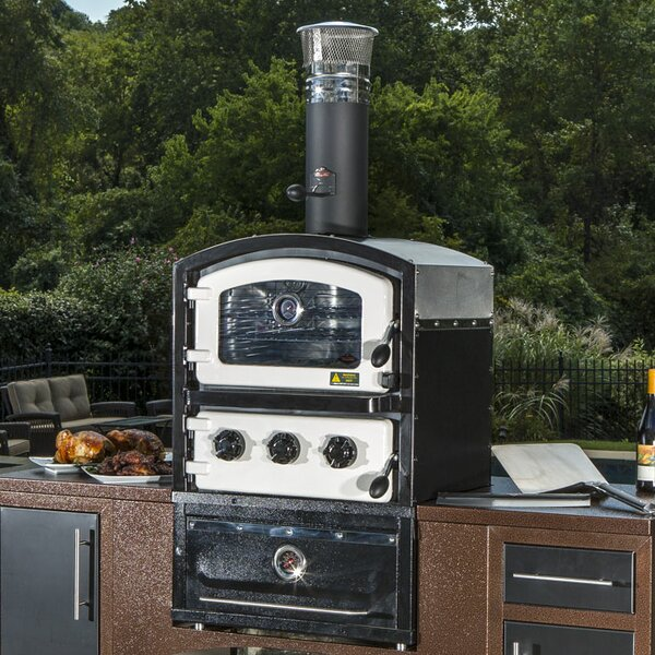 Alto Wood Fired Oven and Smoker for Built-In Use by Fornetto