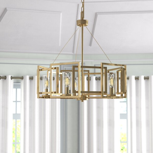 Sean Drum Chandelier by Mercer41