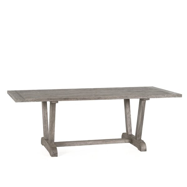 Alesandra Solid Wood Dining Table by Gracie Oaks Gracie Oaks