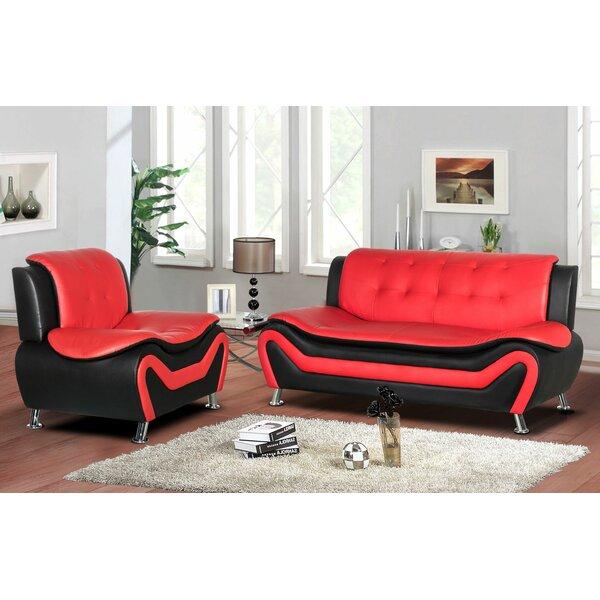Sunray 2 Piece Living Room Set by Orren Ellis