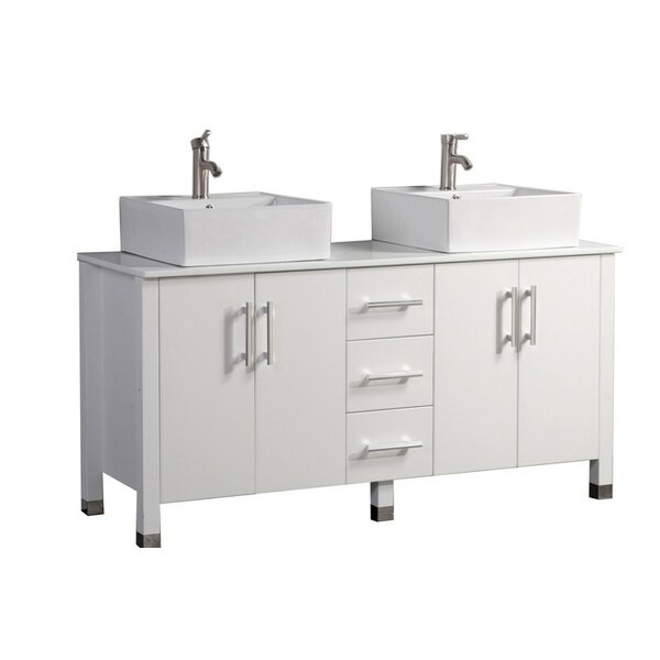 Larock Modern 60 Double Bathroom Vanity Set by Latitude Run