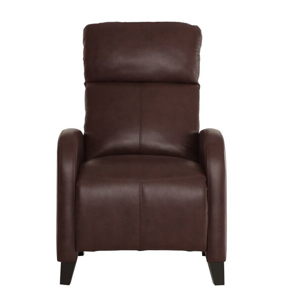 Persephone Upholstered Plush Push Back Manual Recliner by Red Barrel Studio