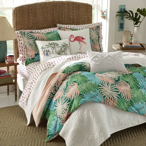 Monmouth Cotton Reversible Duvet Cover Set by Bay Isle Home
