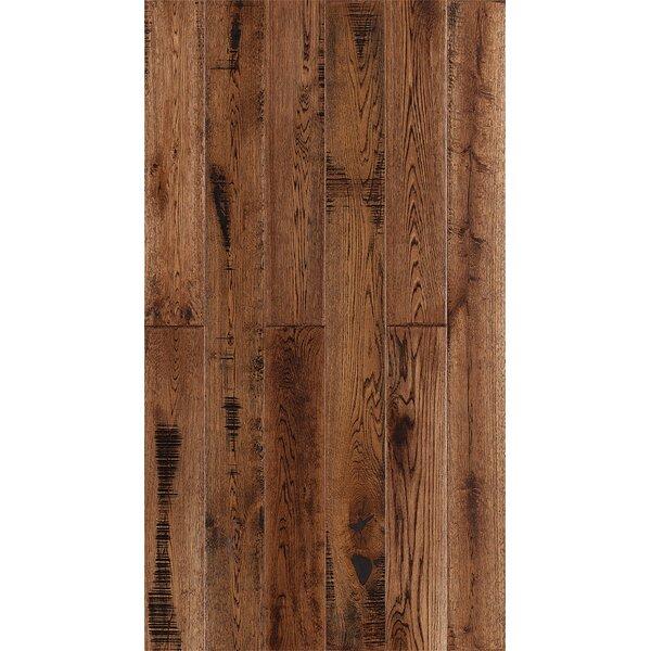 Jasmine 6 Engineered Oak Hardwood Flooring in Distressed Tobacco by Welles Hardwood