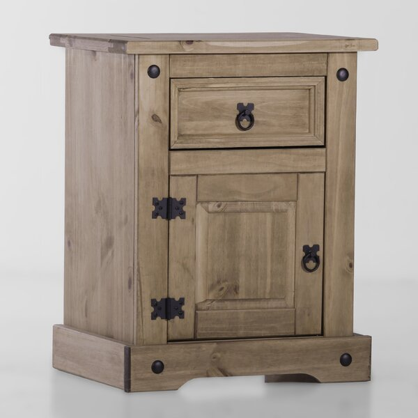 Swink 1 Drawer Nightstand by August Grove