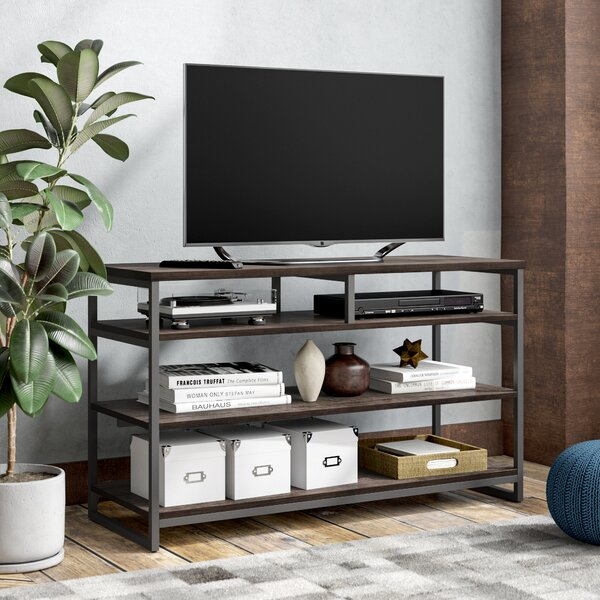Huntsman Ridge Solid Wood TV Stand For TVs Up To 60