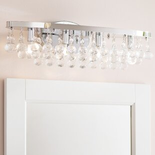 Check Prices Faun 4-Light LED Vanity Light By Willa Arlo Interiors