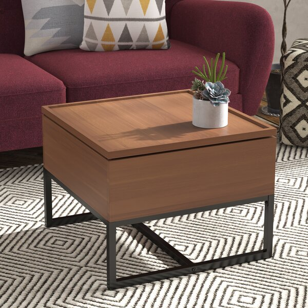 Elberton Contemporary Coffee Table with Storage by Zipcode Design