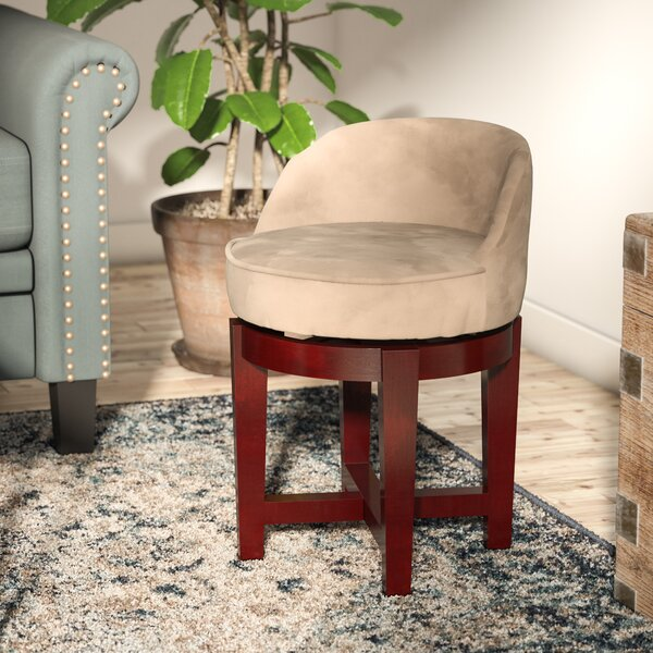 Abell Swivel Vanity Stool by Andover Mills