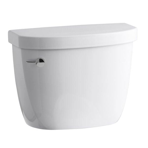 Cimarron 1.28 GPF High Efficiency Toilet Tank with Aquapiston Flush Technology and Tank Locks by Kohler