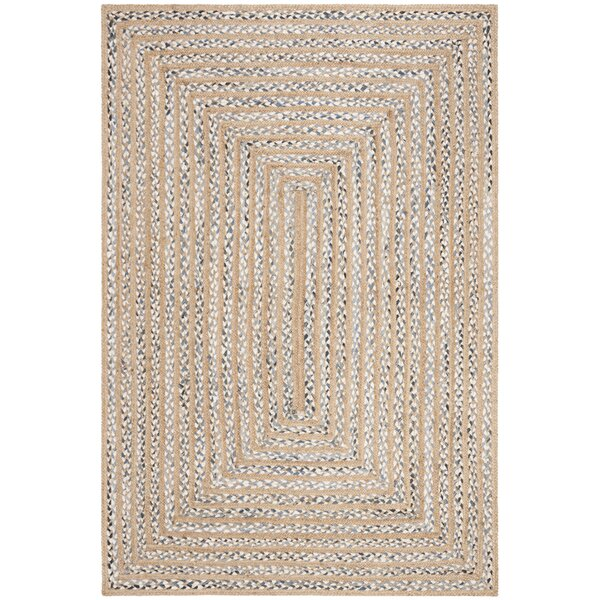 Diara Natural Fiber Hand-Woven Natural Area Rug by Gracie Oaks