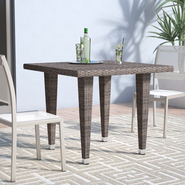 Weishaar Outdoor Wicker Dining Table by Brayden Studio