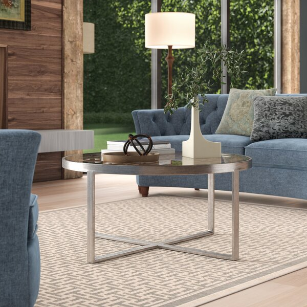 Metal Designs Frame Coffee Table By Artistica Home