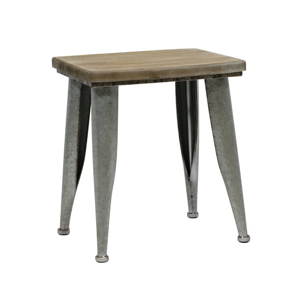 Dili Accent Stool by 17 Stories