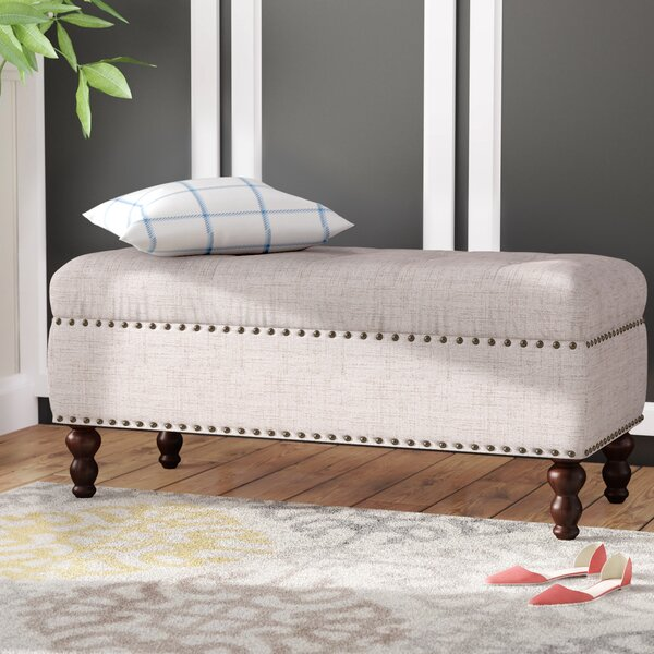 Burbage Upholstered Bench by Charlton Home